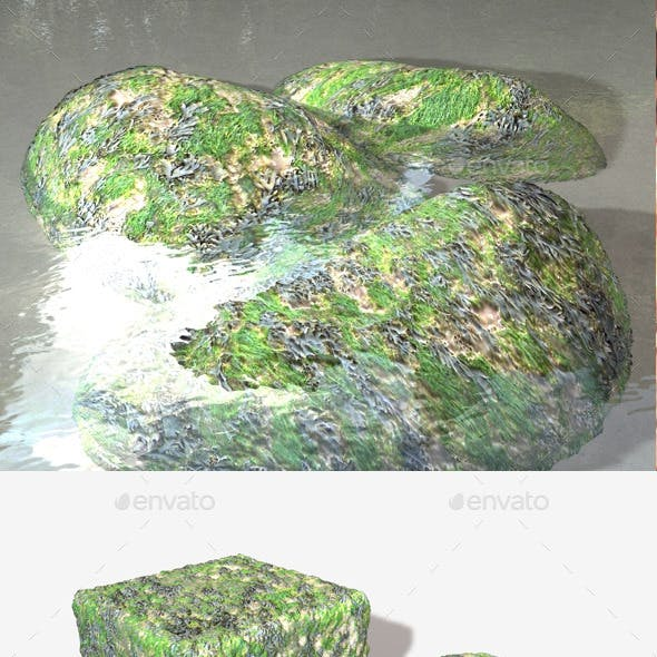 Seaweed and Moss Seamless Texture