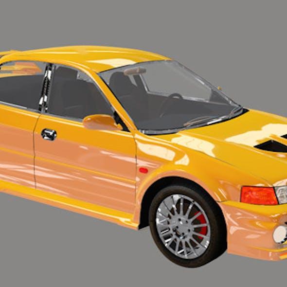 Element 3D Sport Sedan 3D Car Model