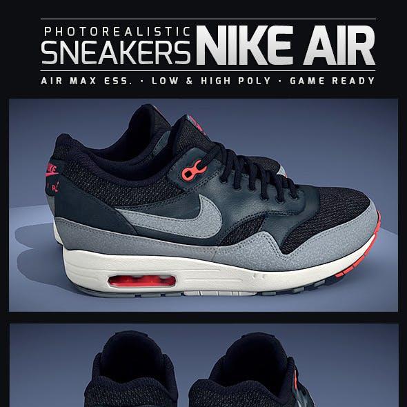 Sneakers Nike Air Max - Photorealistic