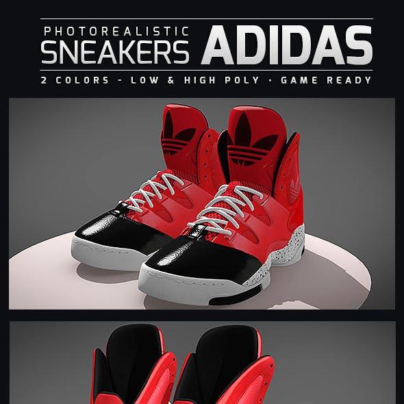 Sneakers Adidas GLC - Photorealistic