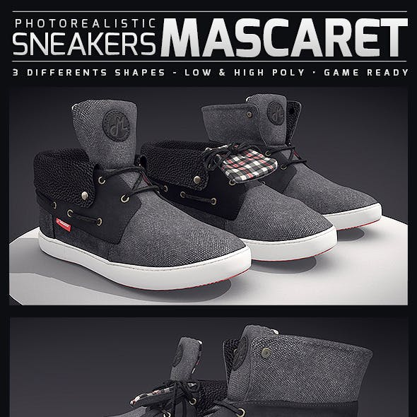 Sneakers Mascaret - Photorealistic
