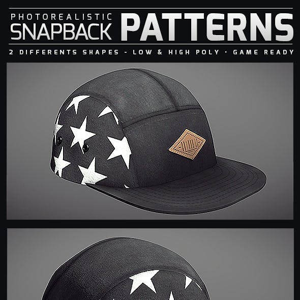Snapback Patterns - Photorealistic
