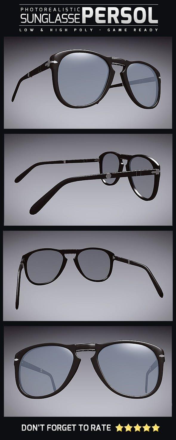 Sunglasse Persol - 3DOcean Item for Sale