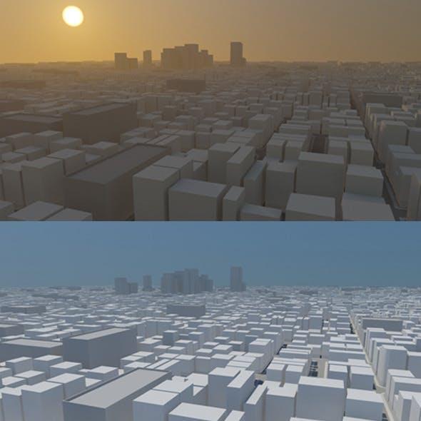 Mega City - 3DOcean Item for Sale