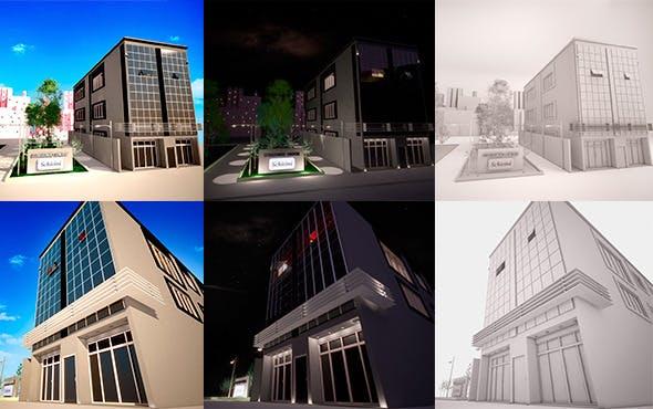 Buisness Building - 3DOcean Item for Sale