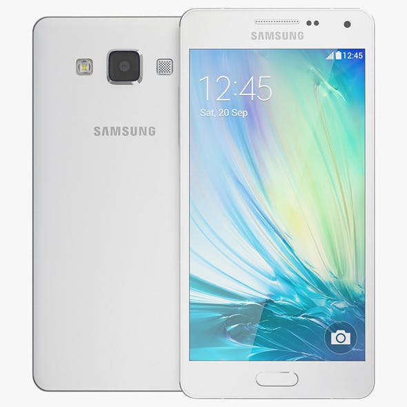 Samsung Galaxy A5 White - 3DOcean Item for Sale