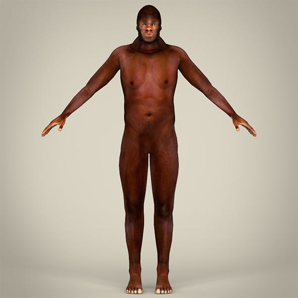 Human Ancestor - 3DOcean Item for Sale