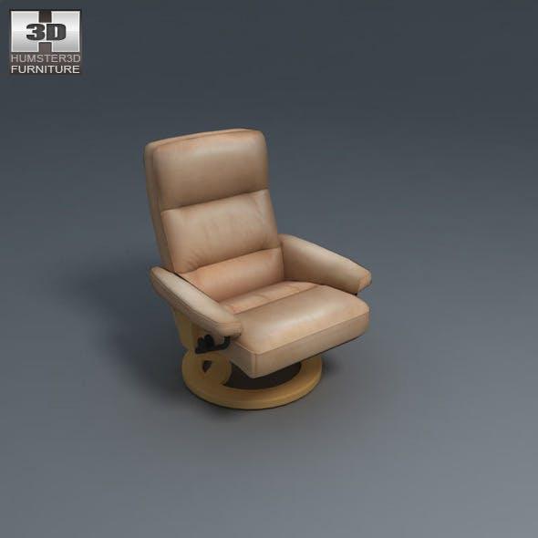 Atlantic Chair - Ekornes Stressless - 3D Model.