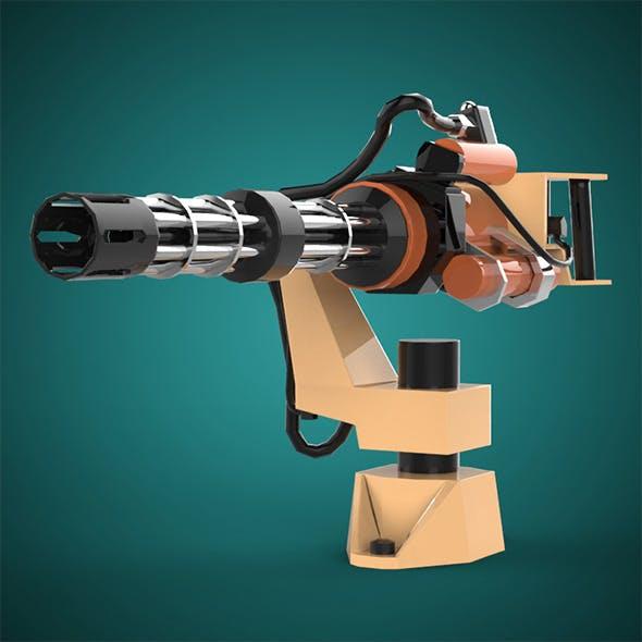 Machine Gun - 3DOcean Item for Sale