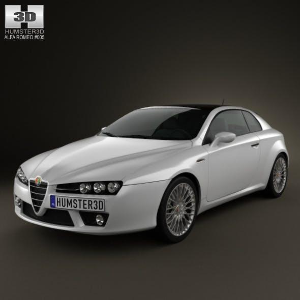 Alfa-Romeo Brera 2011 - 3DOcean Item for Sale