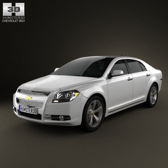 Chevrolet Malibu 2012 - 3DOcean Item for Sale
