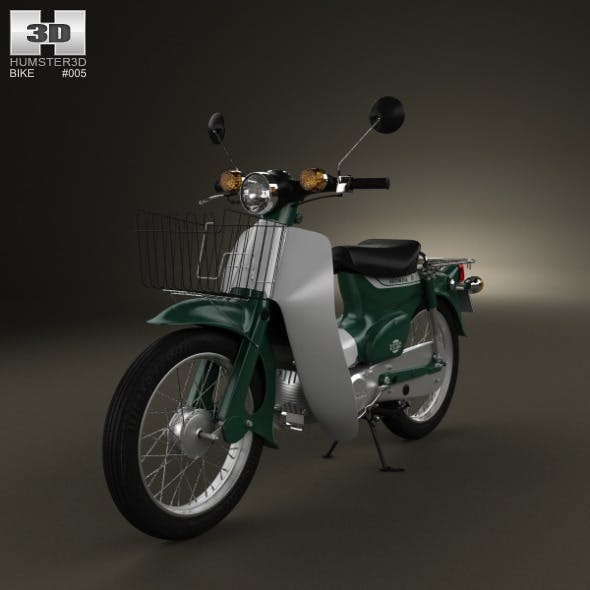 Honda Super-Cub 1971 - 3DOcean Item for Sale