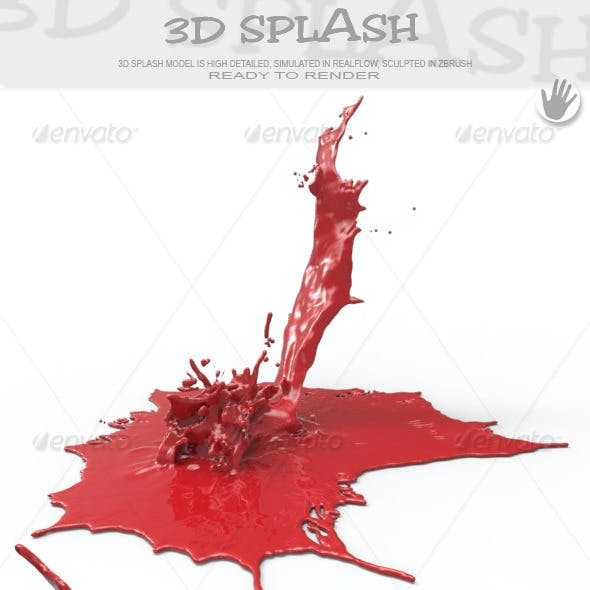 HD Abstract Water Paint Liquid Splash 22