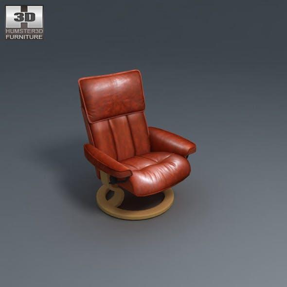 Commodore armchair - Ekornes Stressless - 3DOcean Item for Sale