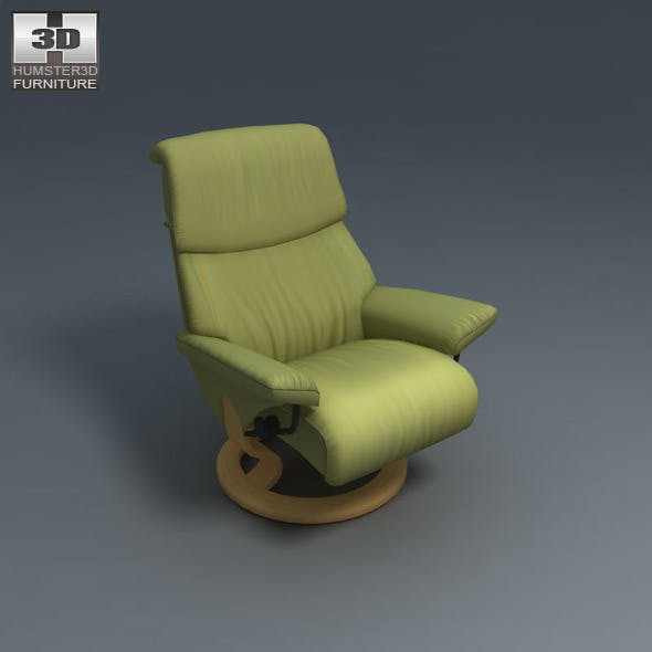 Dream Chair - Ekornes Stressless - 3D Model.