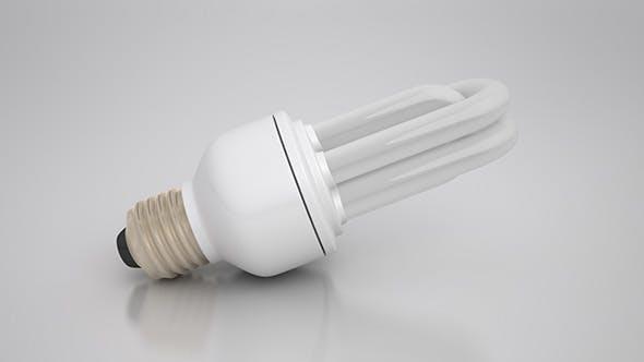 Energy Saver Tubular Light Bulb - 3DOcean Item for Sale