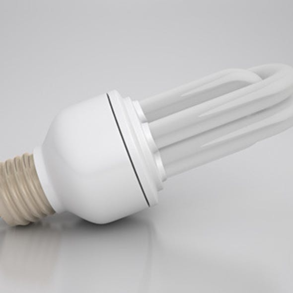 Energy Saver Tubular Light Bulb