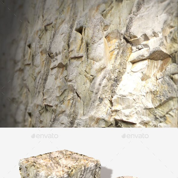 Sandstone Cliff Face Seamless Texture
