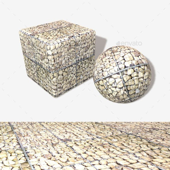 Caged Rocks Seamless Texture