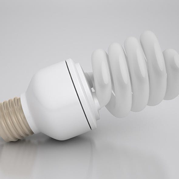 Energy Saver Spiral Light Bulb