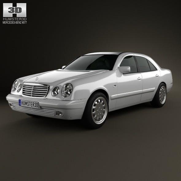 Mercedes-Benz E-Class sedan (W210) 1996 - 3DOcean Item for Sale