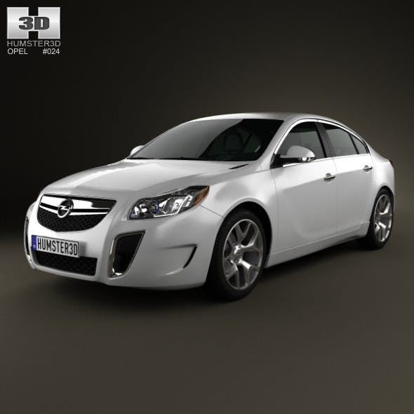 Opel Insignia OPC sedan 2012 - 3DOcean Item for Sale
