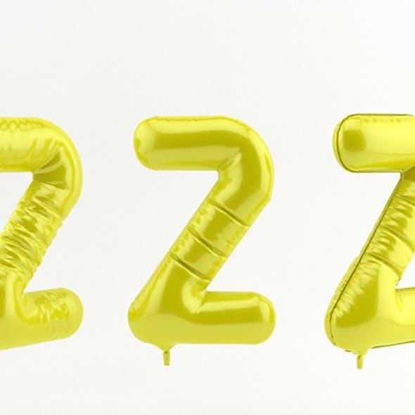 2 two balloon