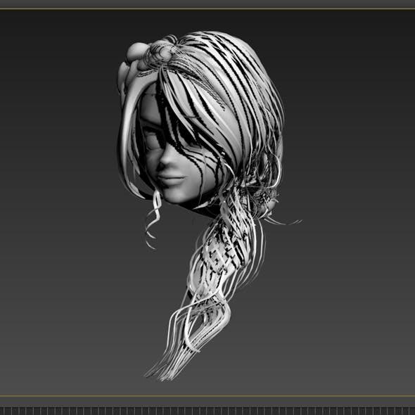Hair Stylish - 3DOcean Item for Sale