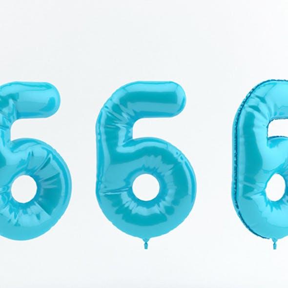 6 six balloon