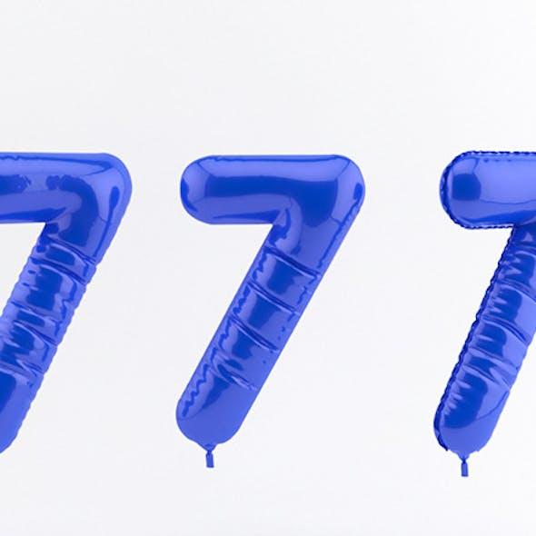 7 seven balloon