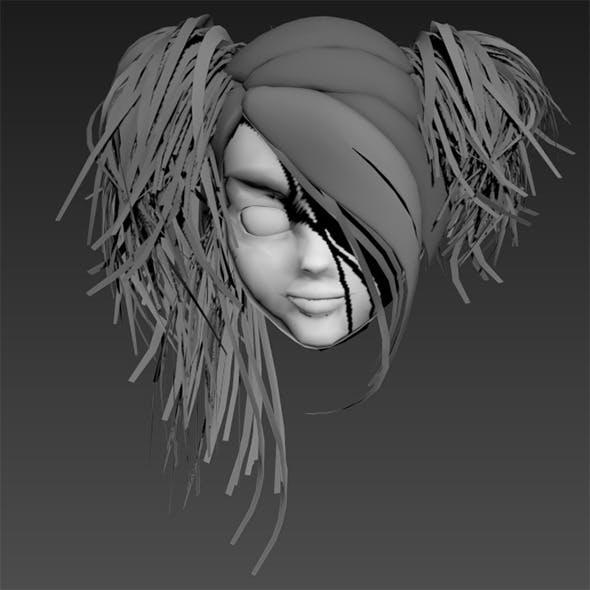 Hair Drift - 3DOcean Item for Sale