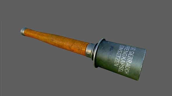 Grenade M24 - 3DOcean Item for Sale