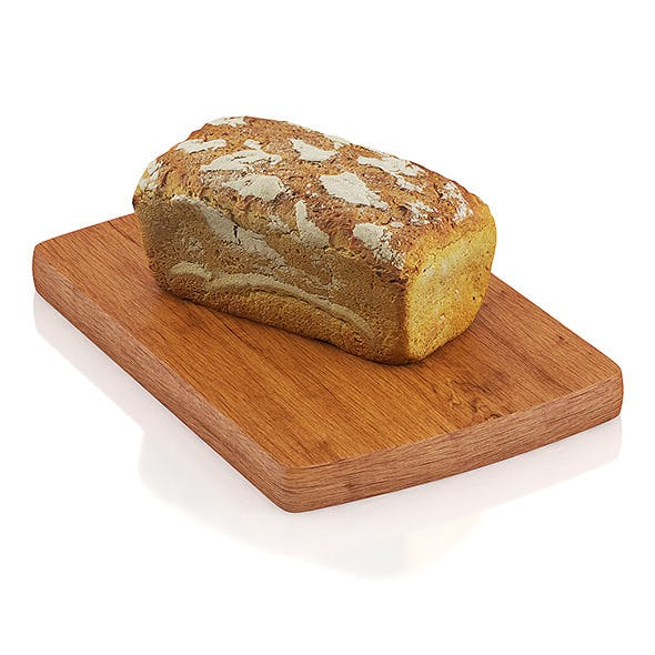 Wholemeal bread - 3DOcean Item for Sale