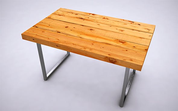 Table - 4 - 3DOcean Item for Sale
