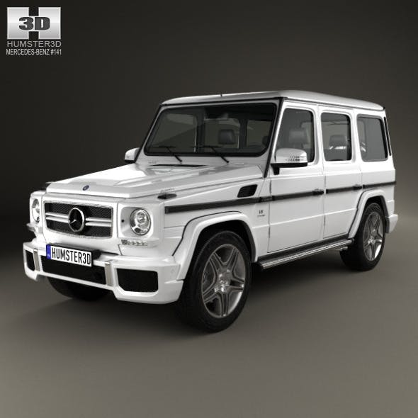 Mercedes-Benz G-Class 65 AMG 2013 - 3DOcean Item for Sale