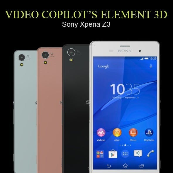 Element3D - Sony Xperia Z3