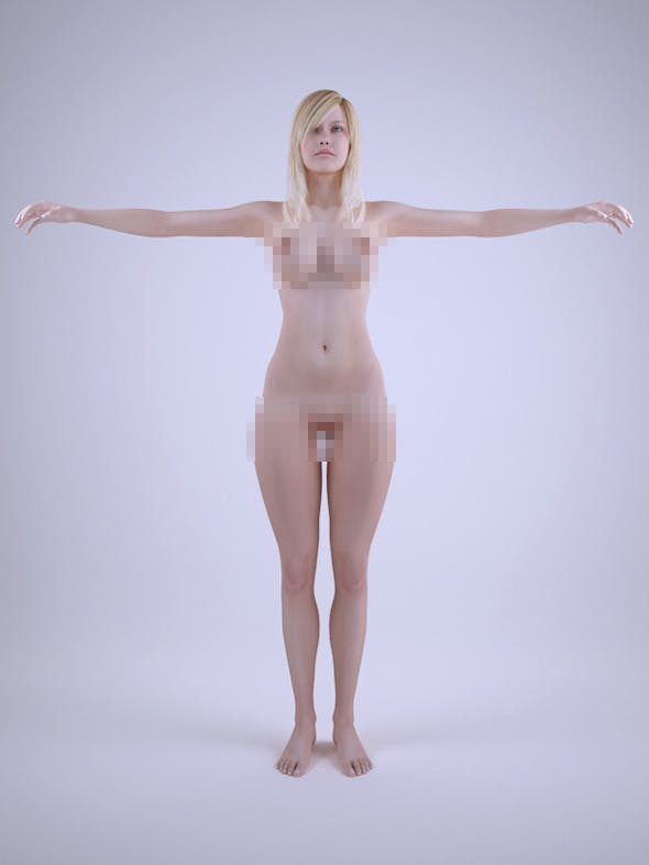 Sexy Nude Girls - 3DOcean Item for Sale