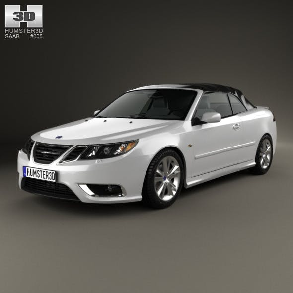 Saab 9-3 convertible 2008 - 3DOcean Item for Sale