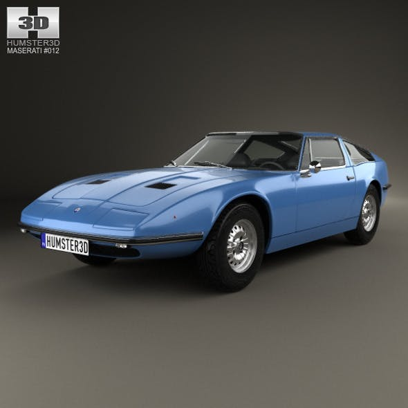 Maserati Indy 1969 - 3DOcean Item for Sale
