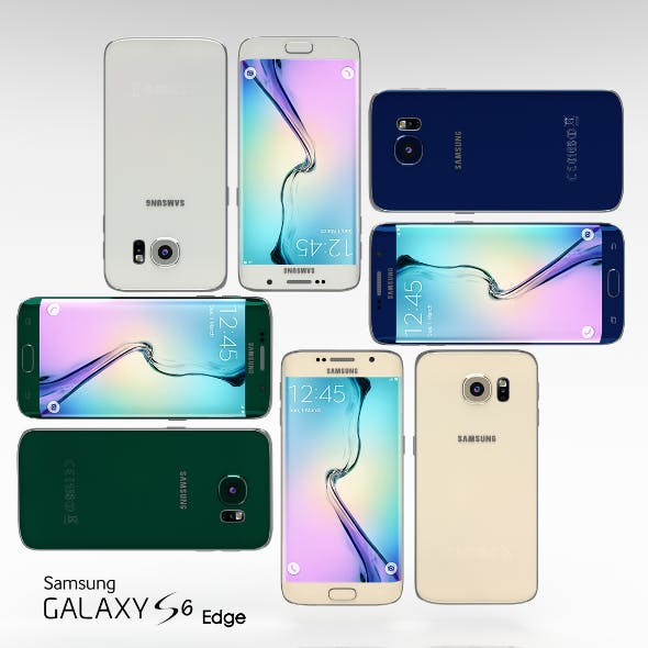 Samsung Galaxy S6 Edge All Color Pack