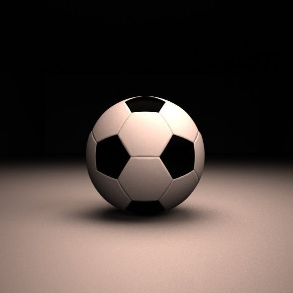 Soccer Ball Rig - 3DOcean Item for Sale