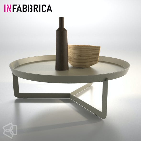 Table Round3 by Infabbrica