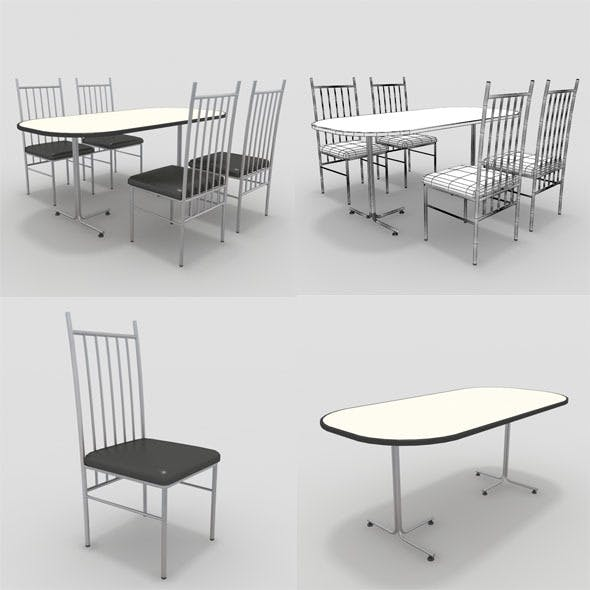 Table with Chairs-1