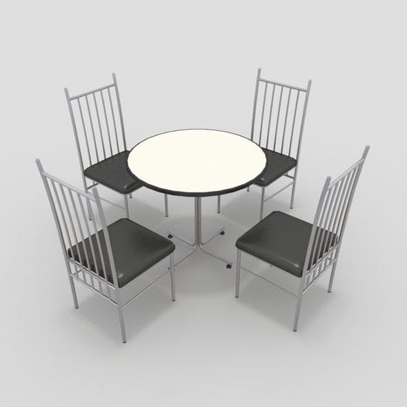 Table with Chairs-2