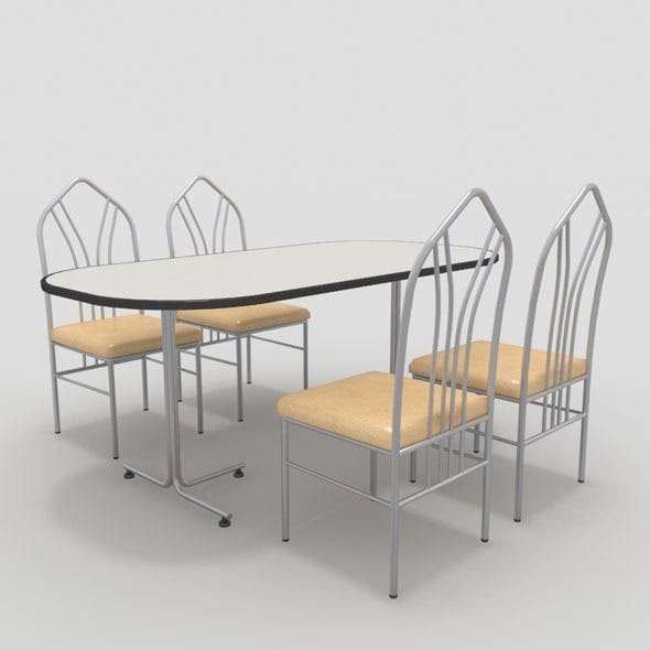 Table with Chairs-3