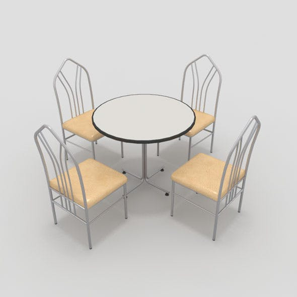 Table with Chairs-4