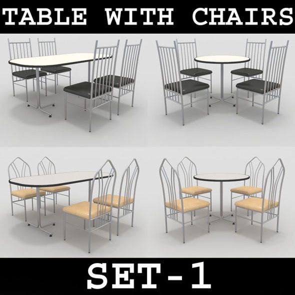 Table with Chairs Set-1