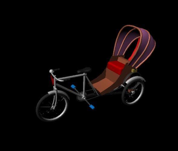Rikshow - 3DOcean Item for Sale