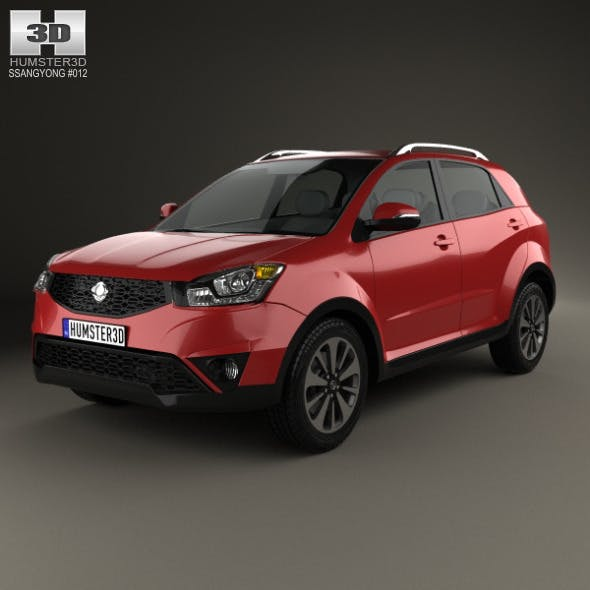 SsangYong Actyon 2014 - 3DOcean Item for Sale