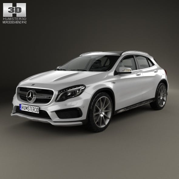 Mercedes-Benz GLA-class 45 AMG 2014 - 3DOcean Item for Sale